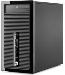 ПК HP ProDesk 400 MT Cel G1840 (2.8)/4Gb/500Gb 7.2k/DVDRW/Win 8.1 Prof downgrade to Win 7 Prof 64/клавиатура/мышь