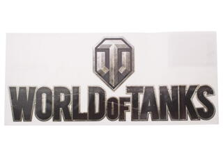 "Наклейка World Of Tanks ""Лого"""