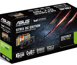 Видеокарта ASUS GeForce GTX 780 [STRIX-GTX780-6GD5]
