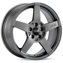 Автомобильный диск Литой OZ Racing Record 7,5x17 5/112 ET 35 DIA 75 Matt Graphite Silver