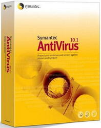 Дистрибутив Symantec AntiVirus Corporate Edition 10.1 Russian CD media Pack