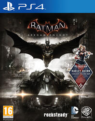 Игра для PS4 Batman: Рыцарь Аркхема