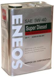 Моторное масло ENEOS SUPER Diesel Synthetic 5W40 OIL1335