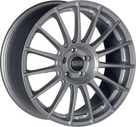 Автомобильный диск Литой OZ Racing Superturismo LM 9,5x19 5/120 ET 18 DIA 79 Matt Race Silver + Black Lettering