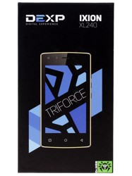 "4"" Смартфон DEXP Ixion XL240 Triforce 8 ГБ голубой"