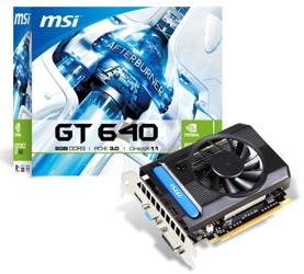 Видеокарта MSI GeForce GT 640 [N640-2GD3/V1]