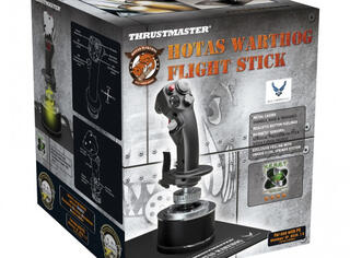 Джойстик ThrustMaster HOTAS Warthog™ Flight Stick черный