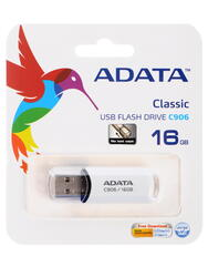Память USB Flash AData C906 16 Гб