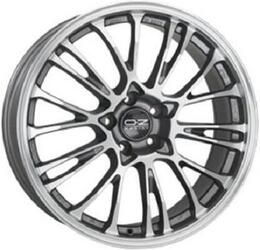 Автомобильный диск Литой OZ Racing Botticelli 8,5x19 5/120 ET 29 DIA 79 Grigio Corsa Diamant