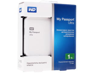 "2.5"" Внешний HDD WD My Passport Ultra WDBDDE0010BWT"