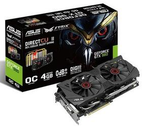 Видеокарта ASUS GeForce GTX 980 STRIX OC [STRIX-GTX980-DC2OC-4GD5]