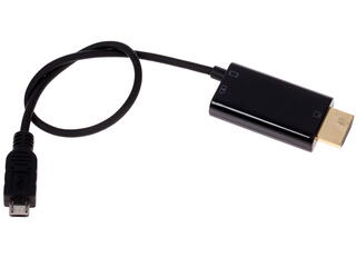 Переходник micro-USB (M)  to HDMI (M), MHL- cable, 20cm, Espada