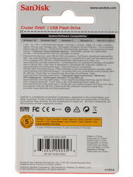 Память USB Flash SanDisk Cruzer CZ58 Orbit  16 Гб
