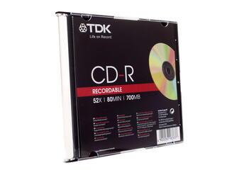 Диск TDK CD-R 700 Mb