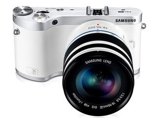 Камера со сменной оптикой Samsung NX300 Kit 18-55mm