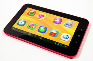 "7"" Детский Планшет TurboKids 2.0 8Gb Purple 800x480/TFT/1.0 Ghz/512 Mb/Cam0,3/Android 4.1"