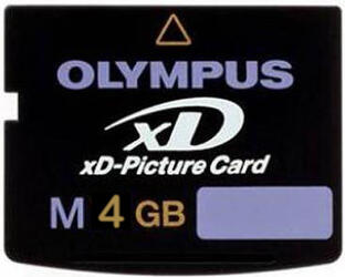Память  OLYMPUS xD Memory Card 4 Gb