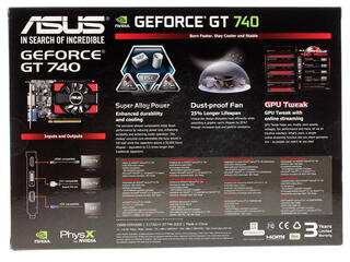 Видеокарта ASUS GeForce GT 740 [GT740-2GD3]