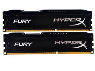 Оперативная память Kingston HyperX FURY Black Series [HX316C10FBK2/8] 8 Гб