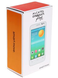 "4"" Смартфон Alcatel One Touch OT-4035D Pop D3 4 ГБ белый"