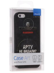 Накладка  Deppa для смартфона Apple iPhone 5/5S/SE