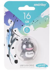 "Память USB Flash Smartbuy Wild Series ""Hippo"" 16 Гб"