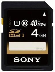 Память Sony EXPERIENCE (SDHC) 4 Gb UHS-I (Class 10)