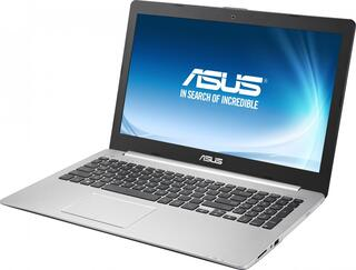 "Ноутбук Asus K56CB-XO030R Core i3-3217U/4Gb/500Gb/DVDRW/GT740M 2Gb/15.6""/HD/Mat/1366x768/Win 7 Home Basic/BT4.0/4c/WiFi/"
