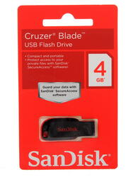 Память USB Flash SanDisk Cruzer Blade 4 Гб
