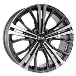 Автомобильный диск Литой OZ Racing Cortina 9x19 5/112 ET 45 DIA 76 Matt Dark Graphite D.C.