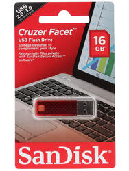 Память USB Flash SanDisk Cruzer Facet 16 Гб