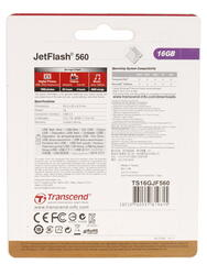Память USB Flash Transcend JetFlash 560 16 Гб