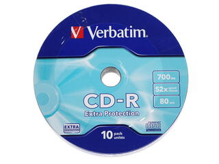 Диск Verbatim CD-R 700 Mb