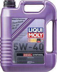 Моторное масло LIQUI MOLY Diesel Synthoil 5W40 1927, полиальфаолефин