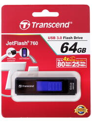 Память USB Flash Transcend JetFlash 760 64 Гб