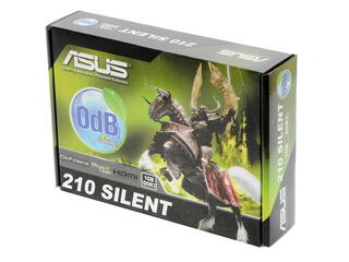 Видеокарта ASUS GeForce 210 [EN210 SILENT/DI/1GD3 /V2 (LP)]