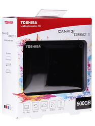 "2.5"" Внешний HDD Toshiba CANVIO Connect II [HDTC810EK3AA]"