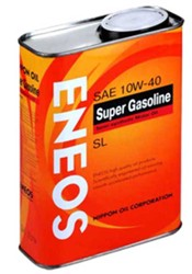 Моторное масло ENEOS SUPER Gasoline Semisynthetic 10W40 OIL1354