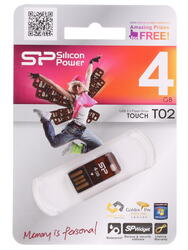 Память USB Flash Silicon Power Touch T02 4 Гб