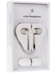 Гарнитура проводная Apple In-Ear Headphones with Remote and Mic [ME186ZM/B] белый