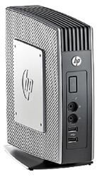 Тонкий клиент HP t510 Eden X2 U4200 (1.0)/4Gb/2Gb flash/VIA HD2.0/Win Embedded Standard 2009/GETH