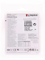 Память USB Flash Kingston DataTraveler Ultimate 3.0 G3 64 Гб
