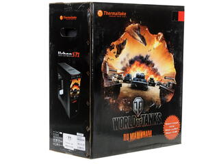 Корпус Thermaltake Urban S71 черный