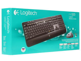 Клавиатура+мышь Logitech Wireless Desktop MK520 (920-002600)