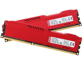 Оперативная память Kingston HyperX FURY Red Series [HX316C10FRK2/8] 8 Гб