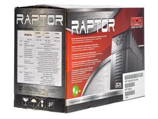 ИБП Powercom Raptor RPT-600A
