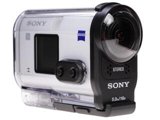 Экшн видеокамера Sony HDR-AS200VT белый