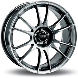 Автомобильный диск Литой OZ Racing Ultraleggera 8x18 5/105 ET 40 DIA 75 Crystal Titanium