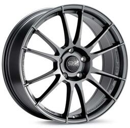 Автомобильный диск Литой OZ Racing Ultraleggera 7,5x18 5/100 ET 48 DIA 68 Matt Graphite Silver