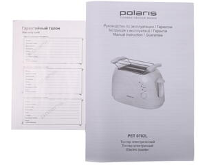 Тостер Polaris PET 0702L белый